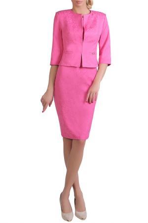 Жакет JUNONA. Цвет: розовый