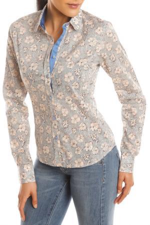 Рубашка GAZOIL. Цвет: бежевый