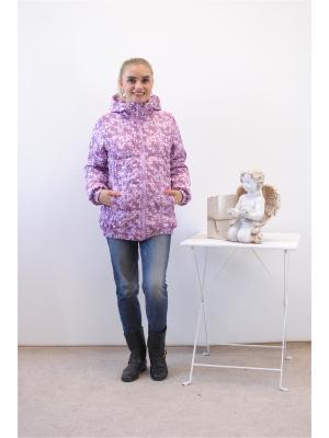 Куртка Адель. Цвет: сиреневый