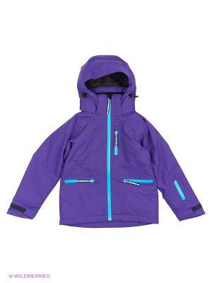 Куртка Bergans. Цвет: синий, сиреневый