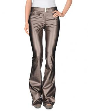Повседневные брюки TENAX. Цвет: голубиный серый