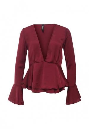 Блуза Influence. Цвет: бордовый