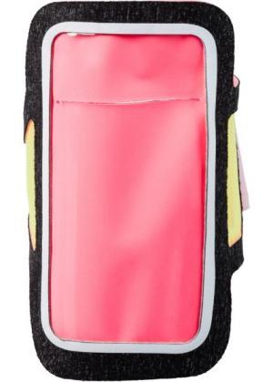 Чехол для мобильного телефона (шиферно-серый/лососевый/разноцветный) bonprix. Цвет: шиферно-серый/лососевый/разноцветный