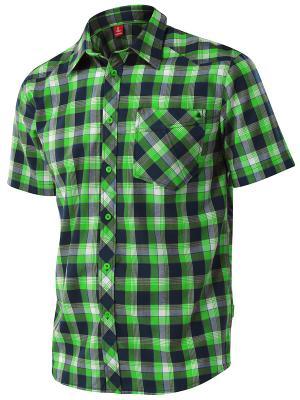 Рубашка Tencel Loeffler. Цвет: салатовый