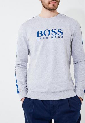 Свитшот Boss Hugo. Цвет: серый