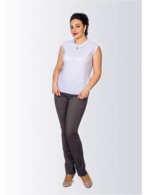 Блузка Лагуна. Цвет: белый