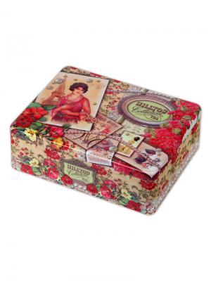Чай Hilltop Шкатулка Парижанка 50 гр. + гр., шт. Цвет: черный,зеленый