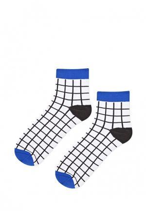 Носки Topshop. Цвет: черно-белый