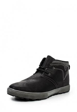 Ботинки Flair. Цвет: черный