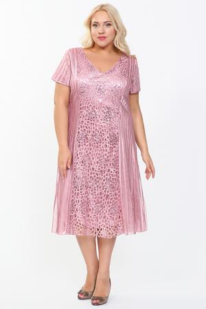 Платье Lia Mara. Цвет: пюсовый