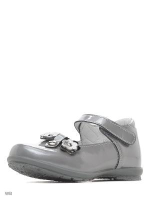 Туфли Детский скороход. Цвет: серый