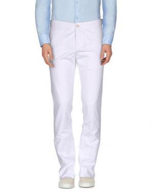 Повседневные брюки FAÇONNABLE. Цвет: белый