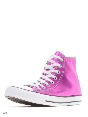 Кеды Chuck Taylor All Star Converse. Цвет: розовый