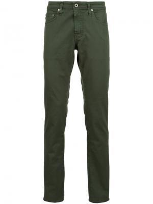 Джинсы Nomad Sulfur Ag Jeans. Цвет: зелёный
