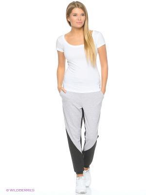 Спортивные брюки FORLIFE. Цвет: серый