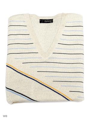 Пуловер FILPUCCI. Цвет: светло-серый