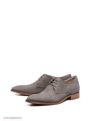 Туфли ECCO PEDROSO. Цвет: серый