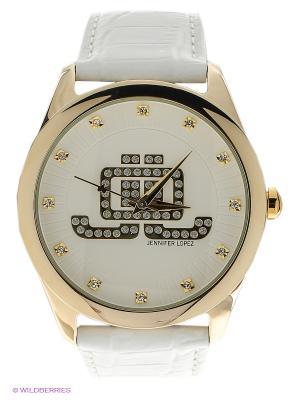 Часы JENNIFER LOPEZ. Цвет: белый, золотистый