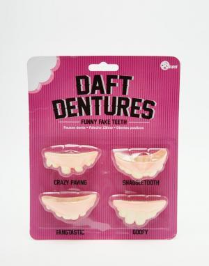 50FIFTY Забавные искусственные зубы. Цвет: мульти