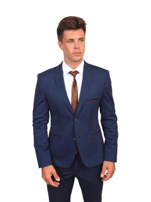 Пиджак Daniel Diaz. Цвет: синий, темно-коричневый, темно-синий