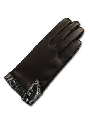 Перчатки ESMEE. Цвет: черный