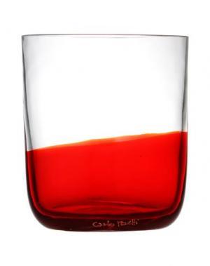 Стакан CARLO MORETTI. Цвет: красный