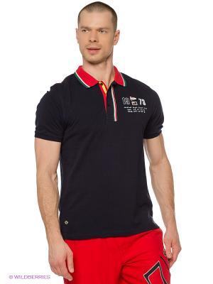 Футболка-поло M Troy Baumwoll Polo Shirt navy Northland Professional. Цвет: темно-синий
