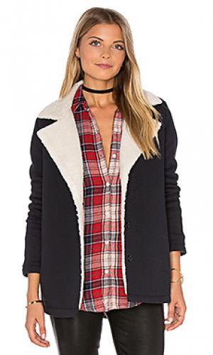 Куртка с подкладкой из искусственного меха aire Velvet by Graham & Spencer. Цвет: черный