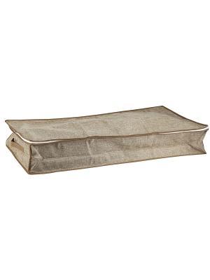 Чехол LINEN Beige для вещей, 16Н*45*90 см WHITE FOX. Цвет: светло-коричневый