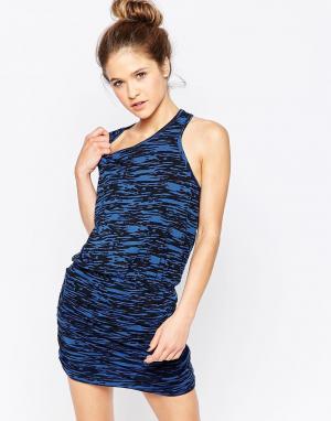 SUNDRY Платье без рукавов. Цвет: мульти