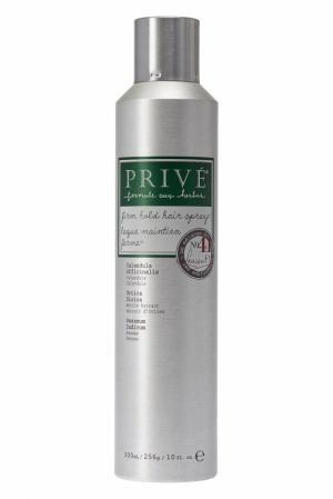 Лак для волос сильной фиксации Firm Hold Hair Spray 300ml Privé. Цвет: multicolor