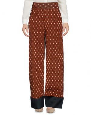 Повседневные брюки AKEP. Цвет: коричневый