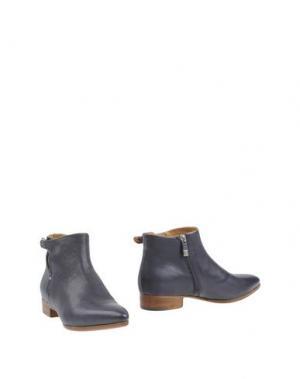 Полусапоги и высокие ботинки ALBERTO FERMANI. Цвет: синий