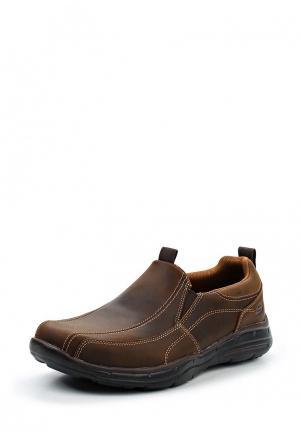 Туфли Skechers. Цвет: коричневый