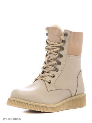 Ботинки GUT. Цвет: белый