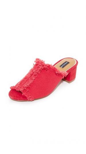 Туфли без задников Resolve на квадратном каблуке JAGGAR. Цвет: оранжевый