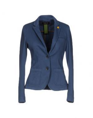 Пиджак IANUX. Цвет: грифельно-синий