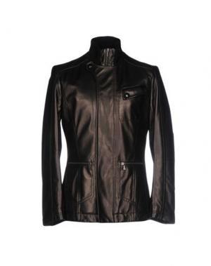 Куртка HARRY & SONS. Цвет: темно-коричневый