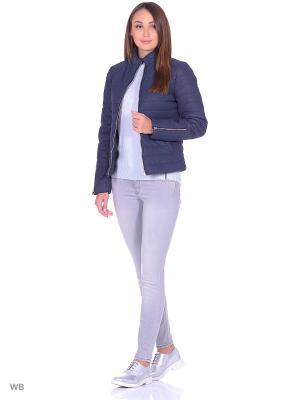 Куртка Vila. Цвет: синий