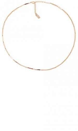 Ожерелье paloma Melanie Auld. Цвет: металлический золотой