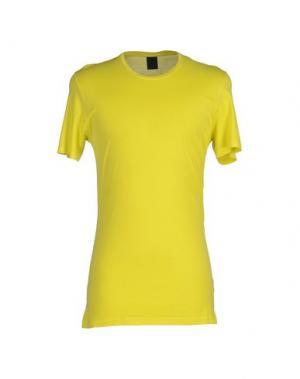 Футболка JIJIL. Цвет: желтый