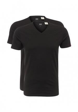 Комплект футболок 2 шт. Levis® Levi's®. Цвет: черный