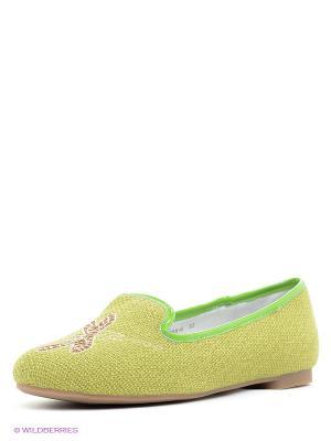 Балетки Vitacci. Цвет: зеленый