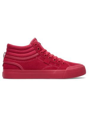 Кеды DC Shoes. Цвет: малиновый