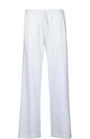 Спортивные брюки джерси Deha. Цвет: белый