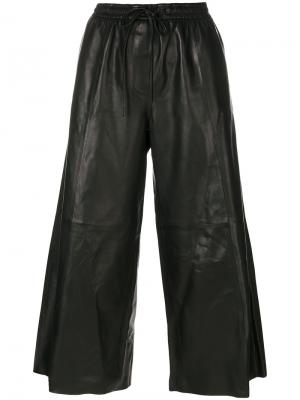 Широкие брюки Juun.J. Цвет: чёрный