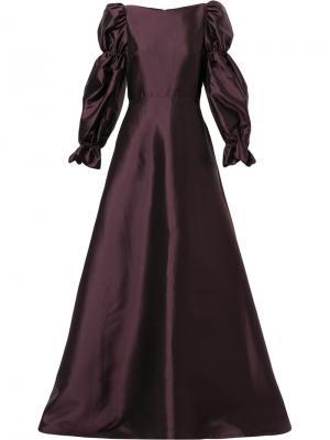 Платье Hawk Greta Constantine. Цвет: розовый и фиолетовый