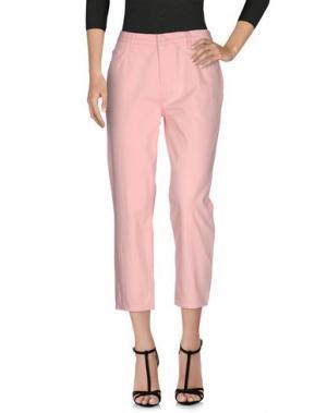 Джинсовые брюки-капри SIMONE ROCHA x J BRAND. Цвет: розовый