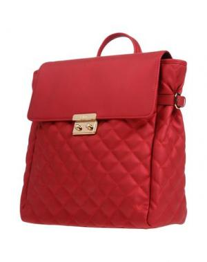 Рюкзаки и сумки на пояс POMIKAKI. Цвет: кирпично-красный