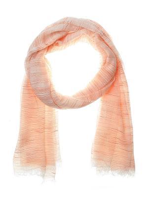Палантин Migura. Цвет: оранжевый, белый